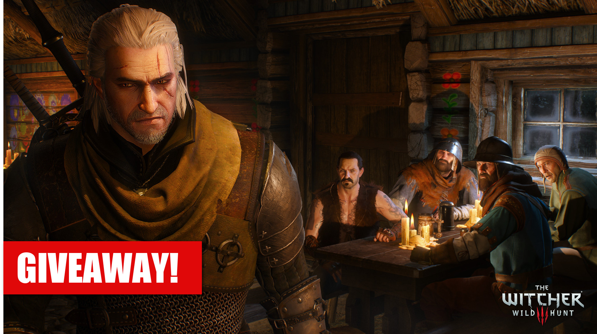 Giveaway- The Witcher 3: Wild Hunt (PC)